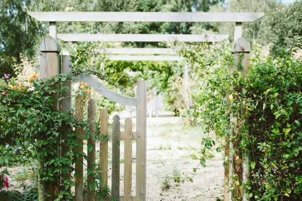 garden gate pergola